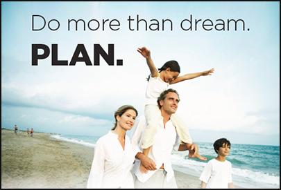 Do more than dream. PLAN.