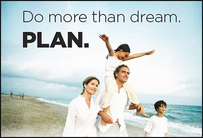 Do more than dream. PLAN.