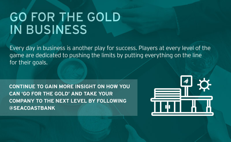 go for the gold in business infographic