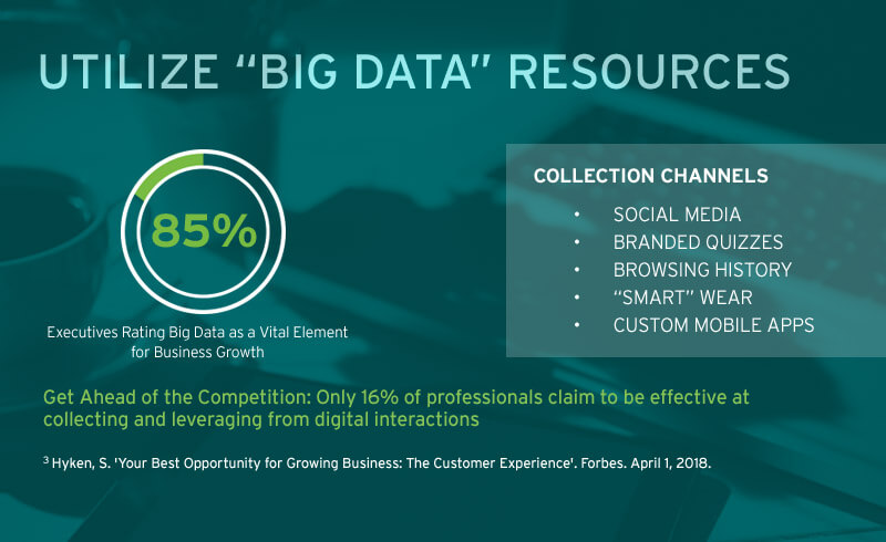 utilize big data resources infographic