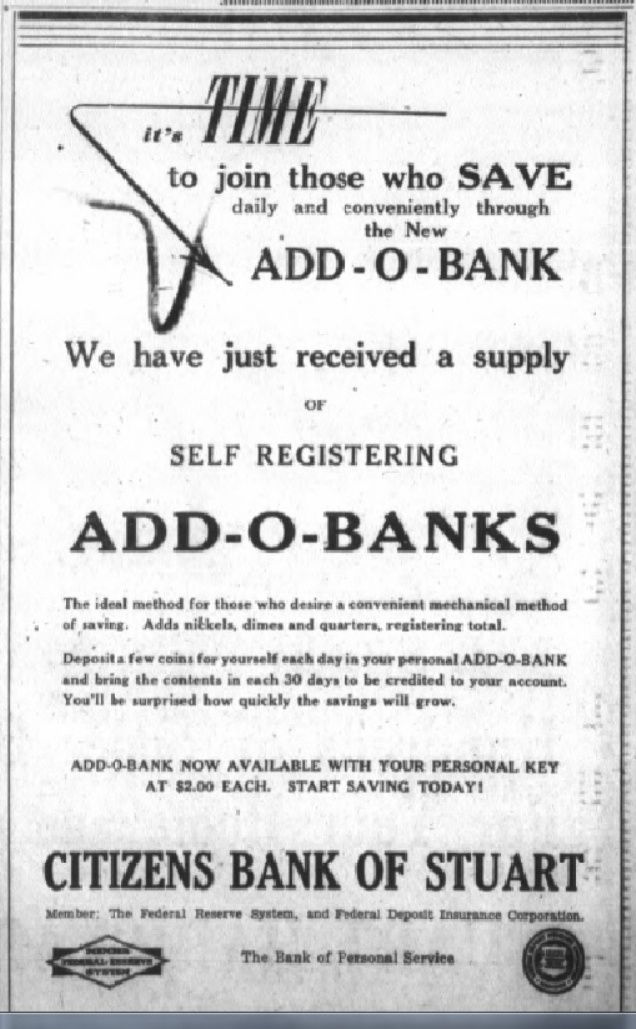 ADD-O-Banks-May 6, 1948-Stuart  News--Luckhardt copy