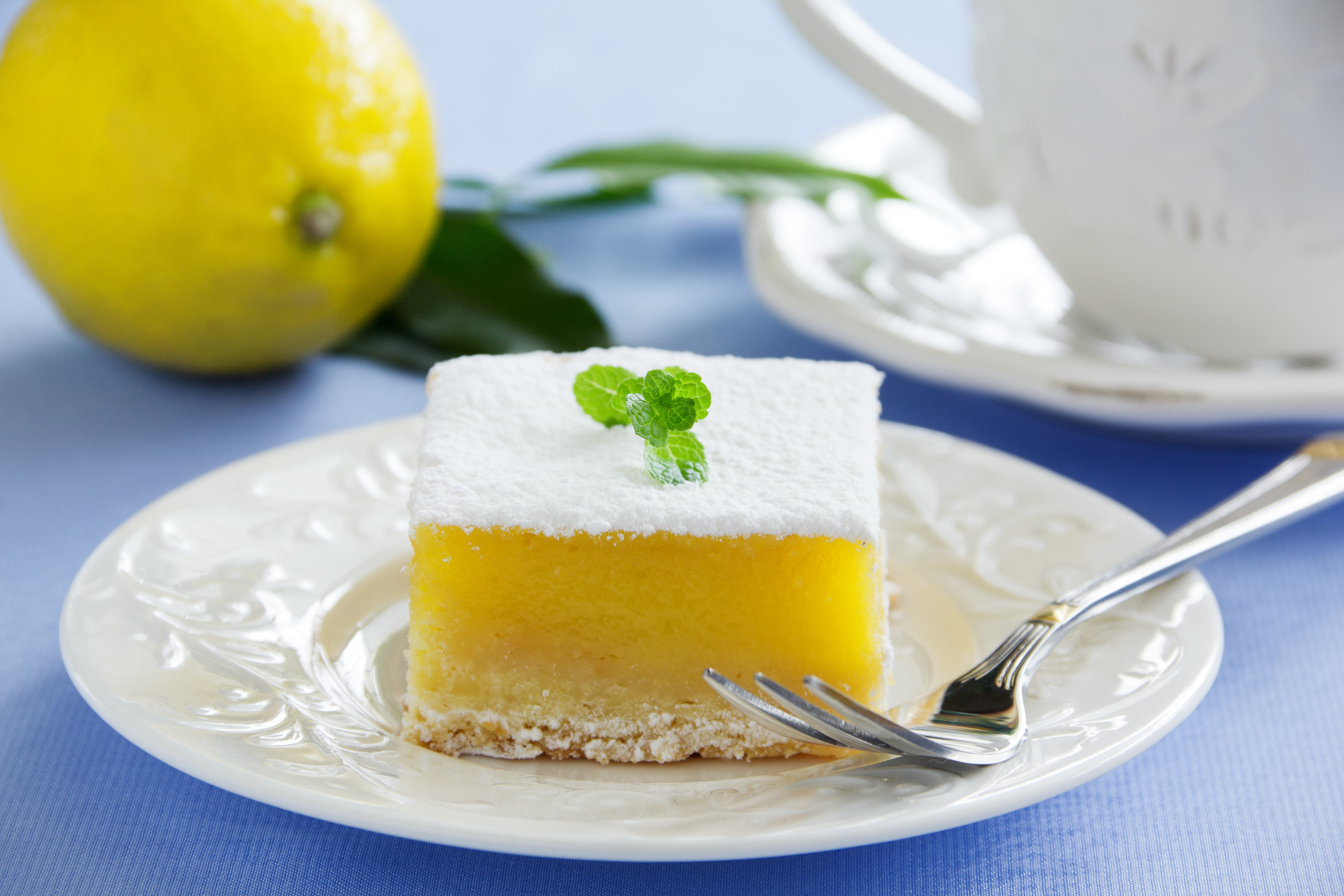 Lemon Cloud Dessert or dream bar is a sweet treat for Easter