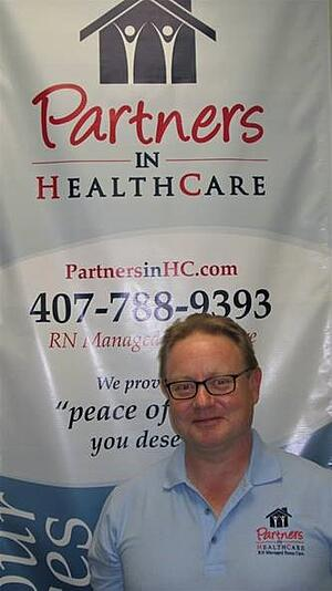 Anthony Ford, owner of Partners in Healthcare in-home care
