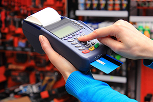 credit card payment machine