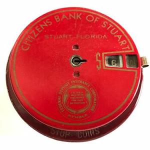red citizens bank of stuart container