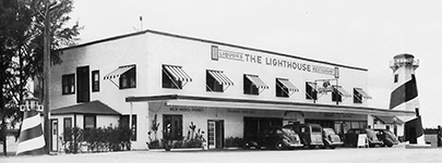 the lighthouse restaurant 1948