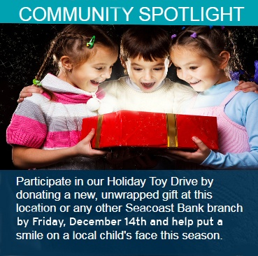 Toy Drive Community Spotlight