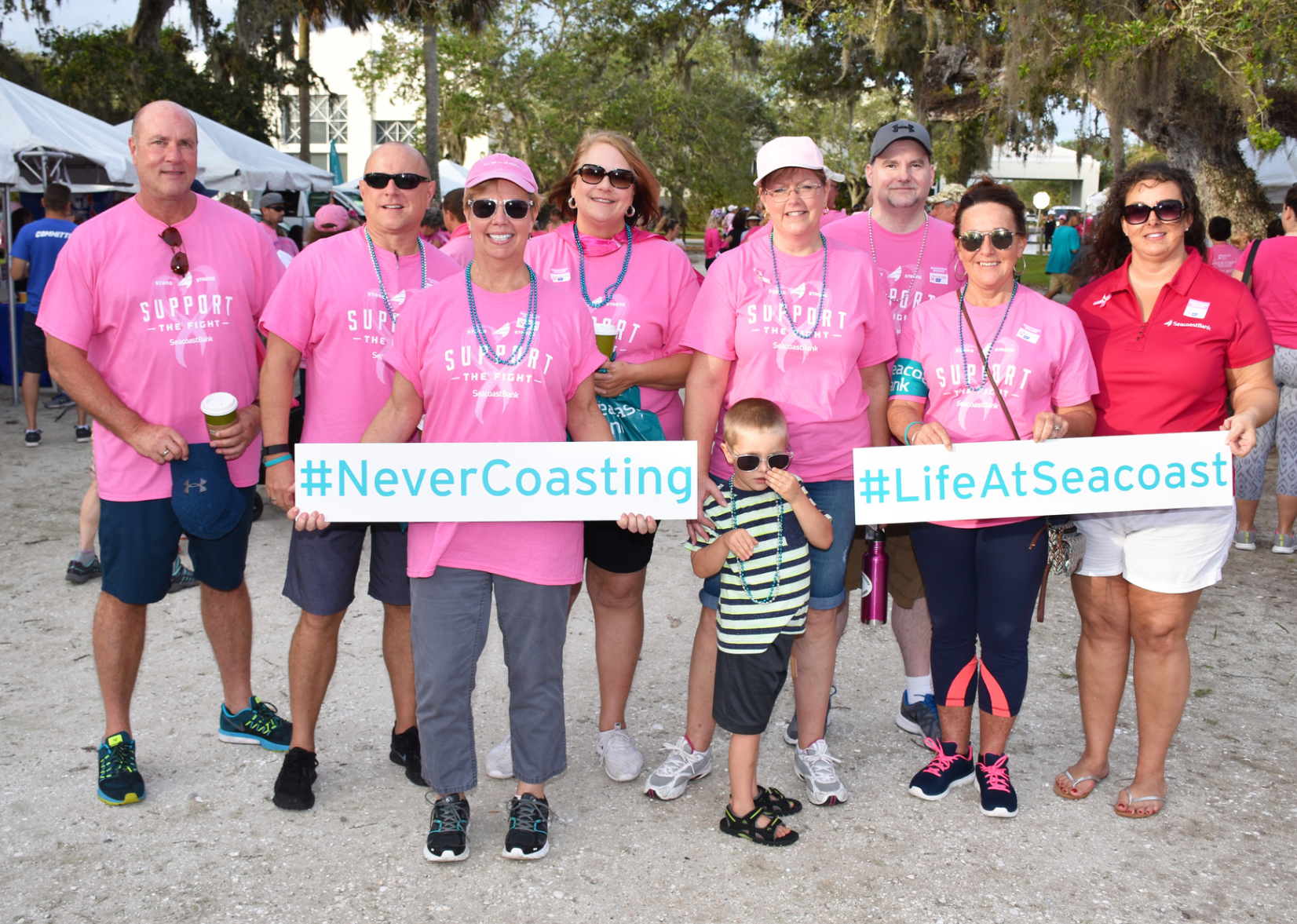 AMERICAN CANCER SOCIETY ANNOUNCES SEACOAST BANK AS REGIONAL SPONSOR FOR MAKING STRIDES EVENTS ACROSS EIGHT COMMUNITIES IN FLORIDA