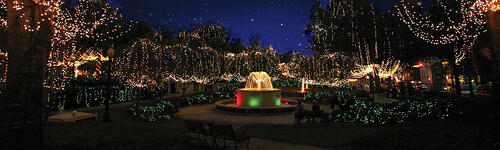 christmas-lights-fountain