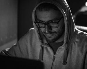 hackerB&W