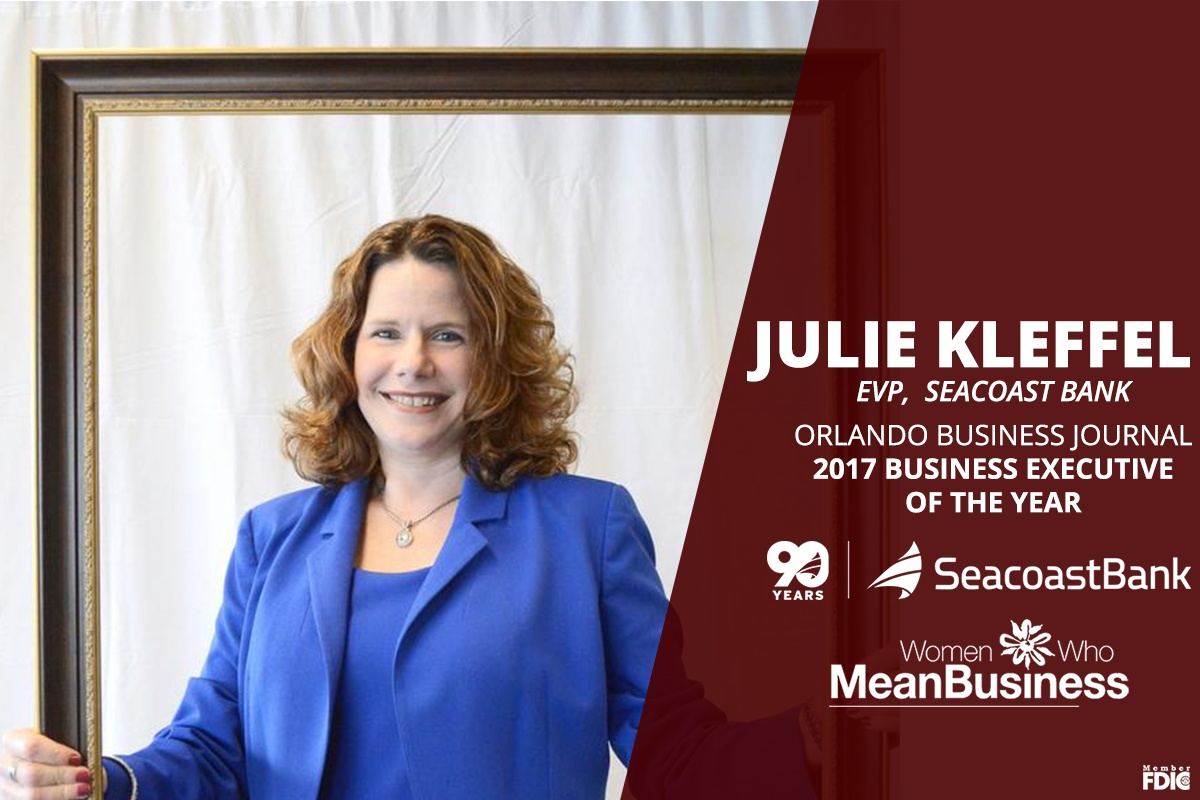 Seacoast's Julie Kleffel Named OBJ's 2017 Business Executive of the Year